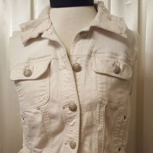 Style and Co. Ivory vest
